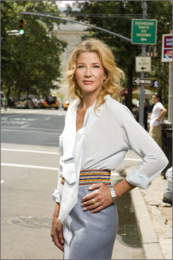 "New York state of mind: Candace Bushnell mines the ""small-town aspect"" of the city in her new novel."