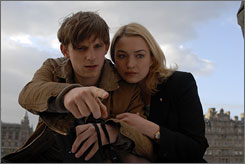Jamie Bell and Sophia Myles star in Mister Foe.