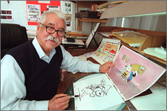 Bill Melendez began his career at Walt Disney Studios in 1938.