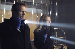 The spotlight is on Fringe: Mark Valley and Anna Torv star in the new J.J. Abrams series that blurs the lines between science fiction and technology.