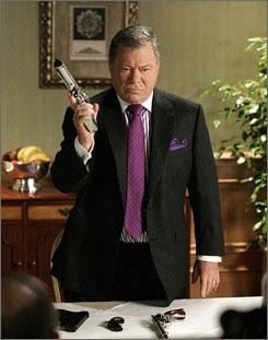 Boston Legal: William Shatner's series goes up against CSI: Miami.
