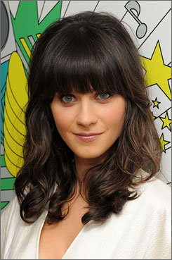 Zooey Deschanel is one half of the indie folk band She & Him.