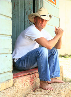 Kenny Chesney, the Country Music Association's reigning entertainer of the year, dominated the CMA Award nominations on Wednesday, receiving seven, including album of the year.