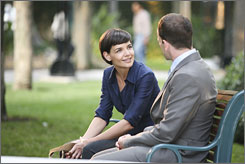 Guest who: Katie Holmes is among several guest stars making an appearance on ABC's fantastical Eli Stone this season.