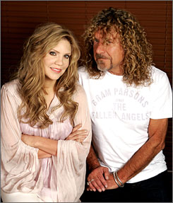 Robert Plant and Alison Krauss won Americana Award's album of the year for their work Raising Sand.