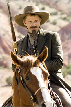 Viggo Mortensen plays a lawman for hire.