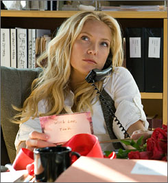 Kate Hudson is caught between Dane Cook and Jason Biggs in My Best Friend's Girl.