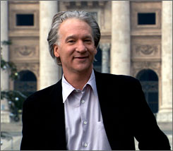 Maher takes his strong opinions to Vatican City.