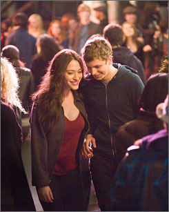 Marching to the same beat: Kat Dennings and Michael Cera are title teens, who hit it off one wild night.