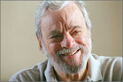 Latest Road Show: As Stephen Sondheim opens his newest musical off-Broadway,  he also is writing a book about the nature of writing lyrics.