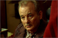  Corrupt and in charge: Bill Murray plays Mayor Cole, the leader of Ember, an underground society built to sustain humans after an apocalypse. 