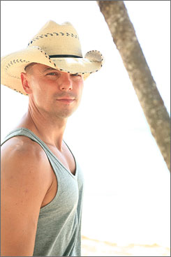 """Artistic shift"": Kenny Chesney collaborated with Willie Nelson."