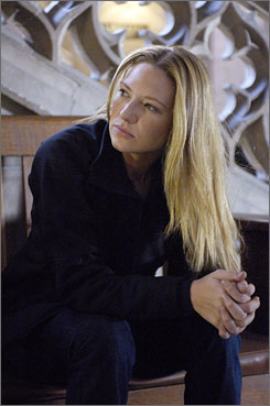 Fringe benefits: Anna Torv.