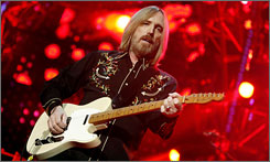 Tom Petty, performing with the Heartbreakers in New York in June, brought in $34.6 million, the third-highest earner among summer tours this year.