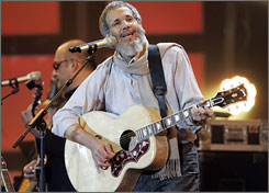   Formerly known as Cat Stevens: Islam has a new  song, Boots and Sand, about his no-fly-list troubles.