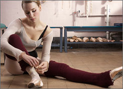 Filth and Wisdom: Holly Weston is a ballerina who becomes a stripper in Madonna's directorial debut.