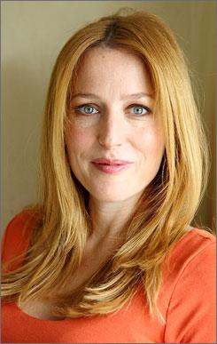Gillian Anderson, 40, named her son Felix.