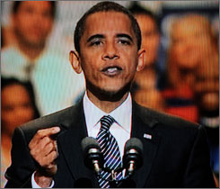 "In his 30-minute infomercial, Barack Obama showed the man and the candidate, with the message, ""I am one of you."""