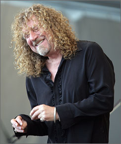 Led Zeppelin lead singer Robert Plant might not be part of the legendary rock band's reunion plans.