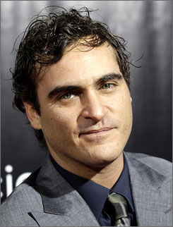 Joaquin Phoenix is famous for films such as Walk the Line and Gladiator.