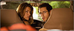Jill Wagner and Paulo Costanzo take a camping trip that turns into a nightmare in Splinter.