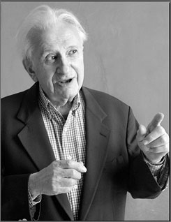 Author Studs Terkel wrote novels such as Division Street: America,Hard Times and Working.
