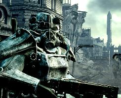 Fallout 3 from Bethesda Softworks is set in a post-apocalyptic Washington, D.C.