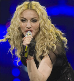 """Even though my stage roof was damaged and some lights and effects aren't working, I want to do the show anyway because I don't want to disappoint my fans,"" Madonna said in a statement."