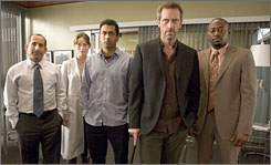 House takes up residence in Fox's Monday lineup on Jan. 19, airing at 8 p.m. ET.