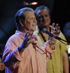 Brian Wilson performs in July as part of Nissan Live Sets in Los Angeles.