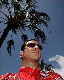 Helio Castroneves will stand trial in March in Miami federal court on tax evasion charges.