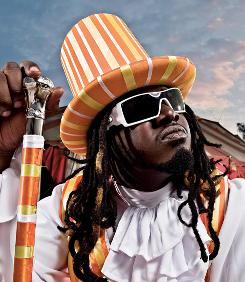 Hats off: T-Pain releases Thr33 Ringz  today with a little help from his friends: Lil Wayne, Ludacris, T.I., Akon, Mary J. Blige and Chris Brown, among others.