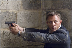 Quantum of Solace isn't quite of the same caliber of Casino Royale, though Daniel Craig is still captivating.