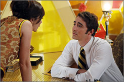 Anna Friel and Lee Pace star in Pushing Daisies.