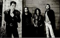 Day & Age is the third studio album from The Killers: Brandon Flowers, left, Ronnie Vannucci, Dave Keuning and Mark Stoermer.