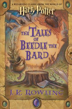 Harry Potter author J.K. Rowling's much-anticipated Tales of Beedle the Bard, which she also illustrated, will be in bookstores Thursday.