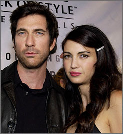 Dylan McDermott and Shiva Rose have two daughters.