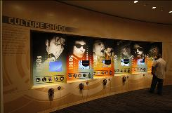 Culture Shock illuminates six of modern history's most revolutionary music figures and allows visitors to explore their stories and cultural impact using interactive displays.