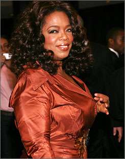 Oprah Winfrey will take over the Kennedy Center Opera House for a live showon the eve of Barack Obama's inauguration .