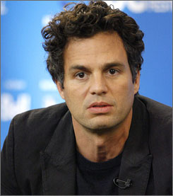 Mark Ruffalo's brother was shot in the head early Monday in Los Angeles.