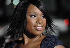 Hudson received four Grammy nominations for her self-titled debut album.