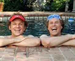 John C. Reilly and Will Ferrell are thrust together when their single parents get married. But the new brothers immediately dislike each other.