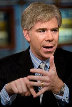 David Gregory of NBC News will take over as moderator of  Meet the Press next Sunday.