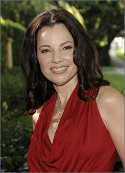 Fran Drescher is famous for playing New Yorkers in  Saturday Night Fever  and  The Nanny.