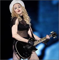 "Roman Catholic Cardinal Jorge Medina criticized Madonna for proviking ""impure thoughts."""