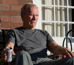 Clint Eastwood's bigoted Korean War veteran comes to see people in a new light in Gran Torino.
