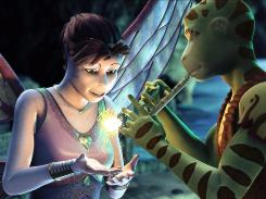 Star-crossed lovers: Delgo (voiced by Freddie Prinze Jr.) and Kyla (voiced by Jennifer Love Hewitt).