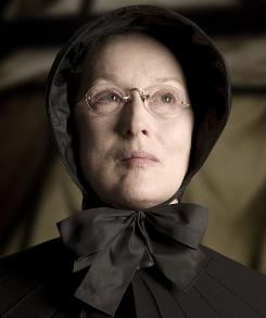Imposing presence: Meryl Streep stars as Sister Aloysius in Doubt. 