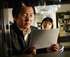 Heroes, with Masi Oka, left, and Sekai Murashige, is the top show among time-shifters.