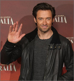 Meet this year's Oscar host: Hugh Jackman has some emcee experience, having presided over the Tonys in 2004.